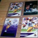 "PRESS PASS 2007 ""JaMARCUS RUSSELL"" 4 CARD LOT LOOK!!"