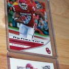 "PRESS PASS 2007 ""ADRIAN PETERSON"" 3 CARD ROOKIE LOT LOOK!!"