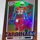 "TOPPS DRAFT PICKS 2007 ""EDGERRIN JAMES"" BRONZE CHROME REFRACTOR #'D 57/250"