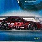 "Hot Wheels 2007 ALL STARS #100 ""PONTIAC FIREBIRD"" MF RED"