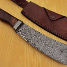 Damascus Steel Clever Tanto Style Knife