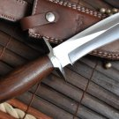 Damascus Hunting Bowie Edge Knife