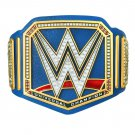 Universal Championship Blue Replica Title Belt with Free Carrying Bag