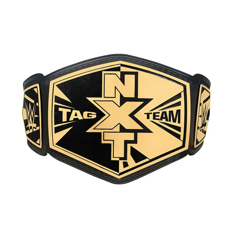 NXT Tag Team Championship Replica Title Belt (2014) with Free Carrying Bag