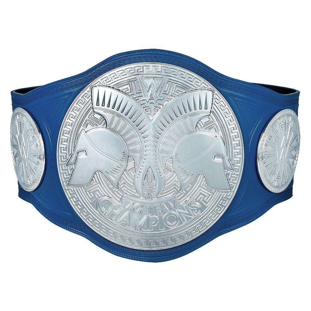 WWE SmackDown Tag Team Championship Replica Title Belt with Free Carrying Bag