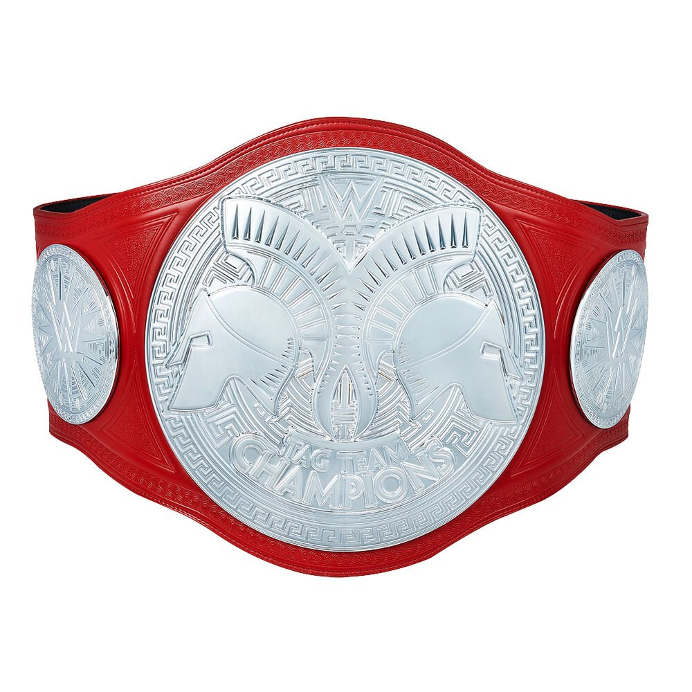 WWE RAW Tag Team Championship Replica Title Belt with Free Carrying Bag