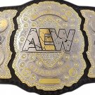AEW World Championship Replica Title Belt with Free Carrying Bag
