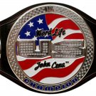 John Cena Word Life U.S. Championship Spinner Replica Title Belt with Free Carrying Bag