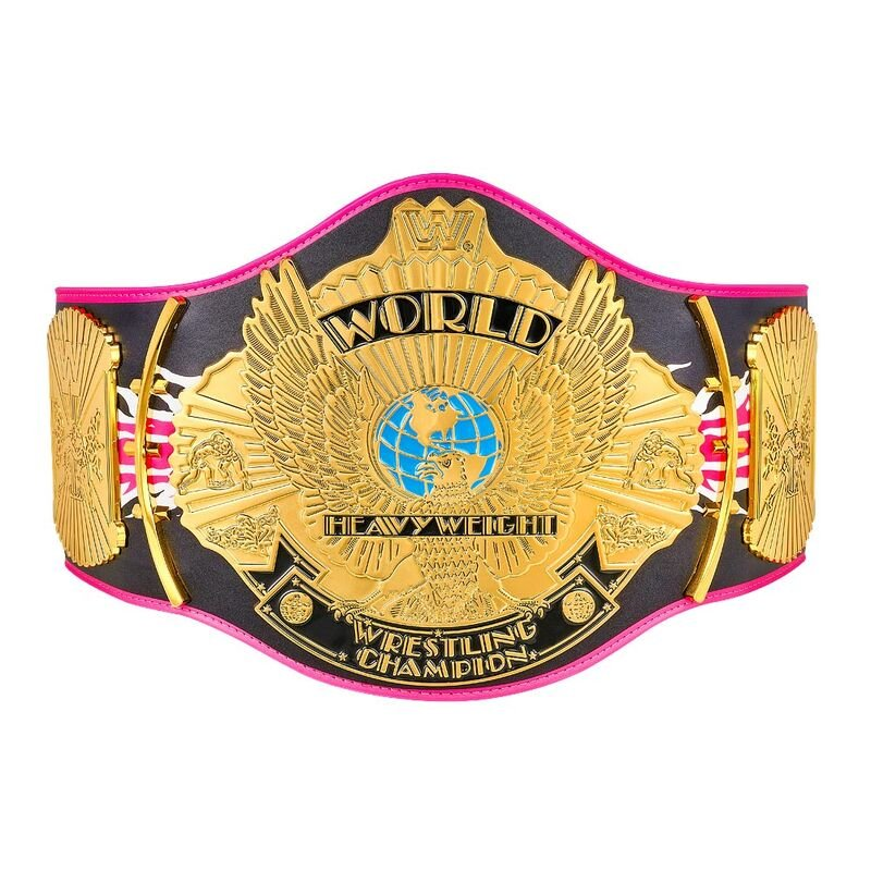 """Bret Hart """"Signature Series"""" Championship Replica Title Belt with Free Carrying Bag"""