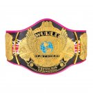 """WWE Bret Hart """"Signature Series"""" Championship Replica Title Belt with Free Carrying Bag"""