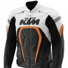 KTM Motegi MotoGP Biker Motorcycle Racing Leather Jacket