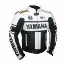 Yamaha MotoGP Biker Motorcycle Racing Leather Jacket