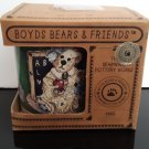 "New Old Stock - Vintage 1998 - Boyds Bears & Friends ""The Lesson"" Mug -  New in Box  -  (1593)"