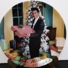 "Vintage 1991 - Elvis Presley Collectors Plate - ""Christmas At Graceland""       (1586)"