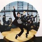 "Vintage 1989 - Elvis Presley Collectors Plate - ""Jailhouse Rock""       (1584)"