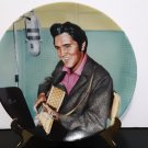 "Vintage 1990 - Elvis Presley Collector's Plate - ""A Studio Session""   Limited Edition    (1582)"