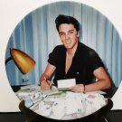 "Vintage 1991 - Elvis Presley Collector's Plate - ""Letters From Fans""   Limited Edition     (1580)"