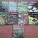 "Vintage 1996 - Lot of 9 - ""Time Life""  The Complete Gardener Hardcover Books    (1602)"