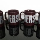 "4 - Hershey's Chocolate  ""Since 1894""  Set of 4 Coffee Mug's                (1524)"