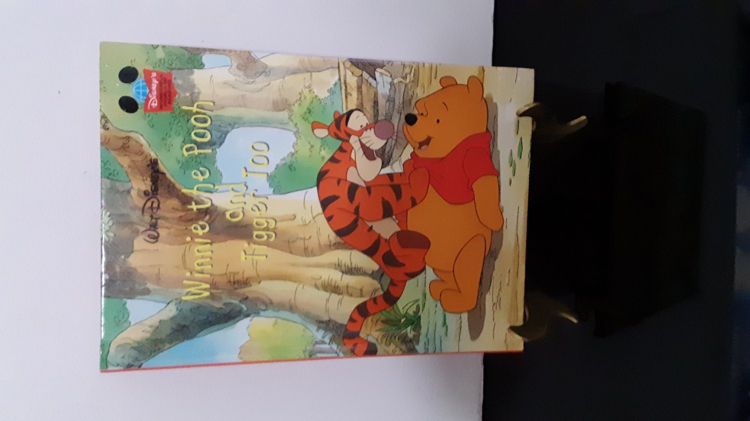 Walt Disney - 1999 Winnie The Pooh And Tigger Too - Hardcover Books    (1654)