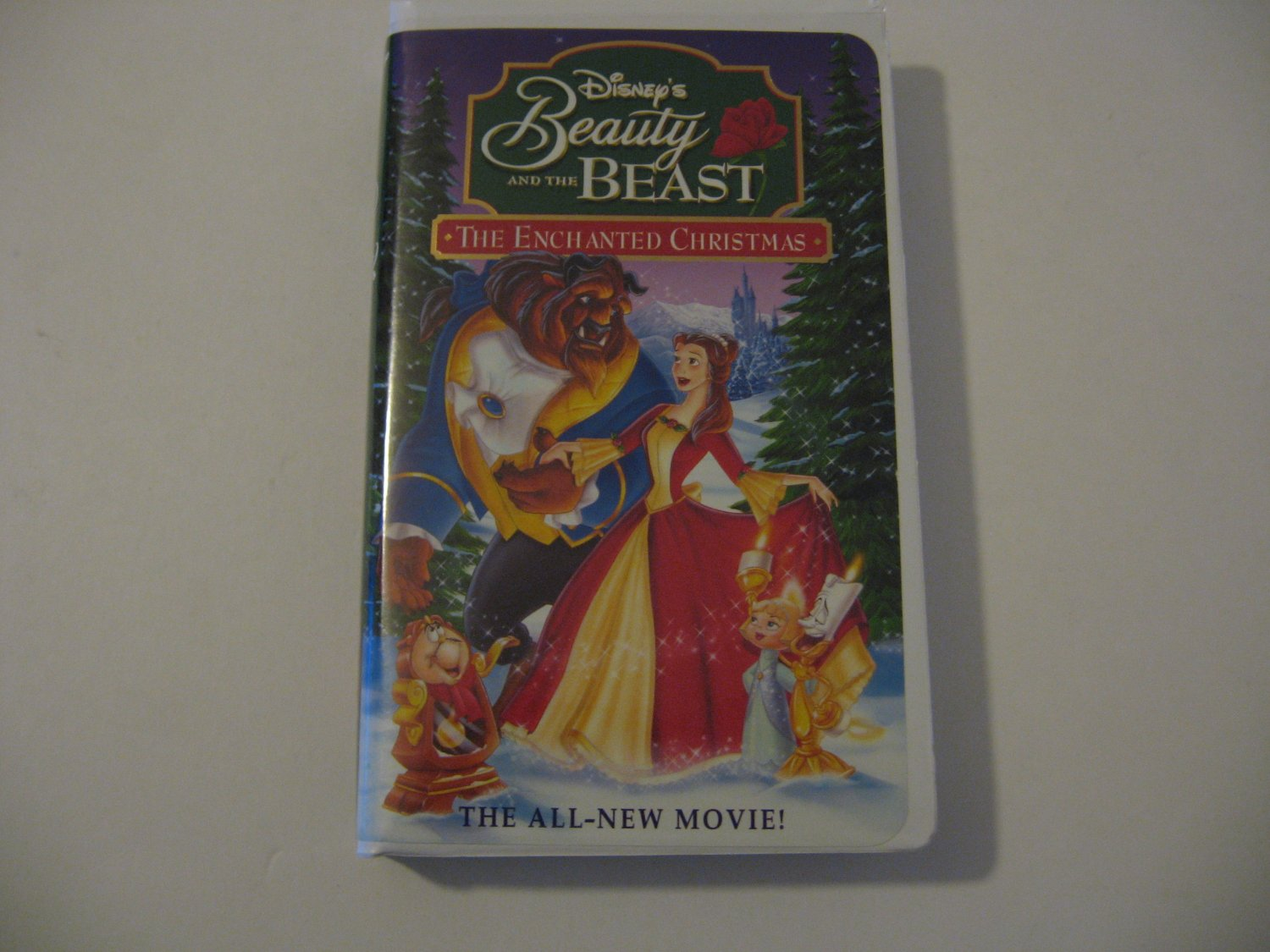 Walt Disney's - Beauty And The Beast - The Enchanted Christmas  - Circa 1991 (VHS)