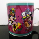 "Vintage Disney - Mickey Mouse & Minnie Mouse ""Fiesta""   Coffee Mug    (1686)"