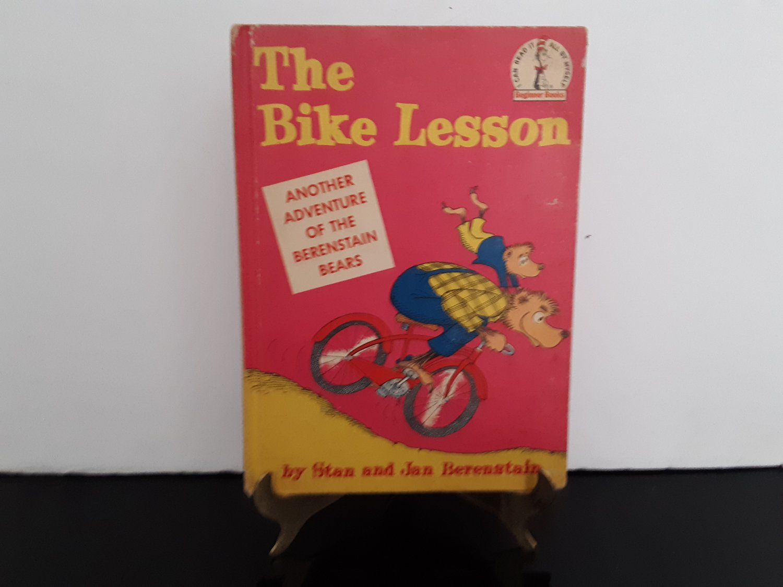 Vintage 1964 - Stan & Jan Berenstain - The Bike Lesson - Beginners Book - Hardcover    (1702)