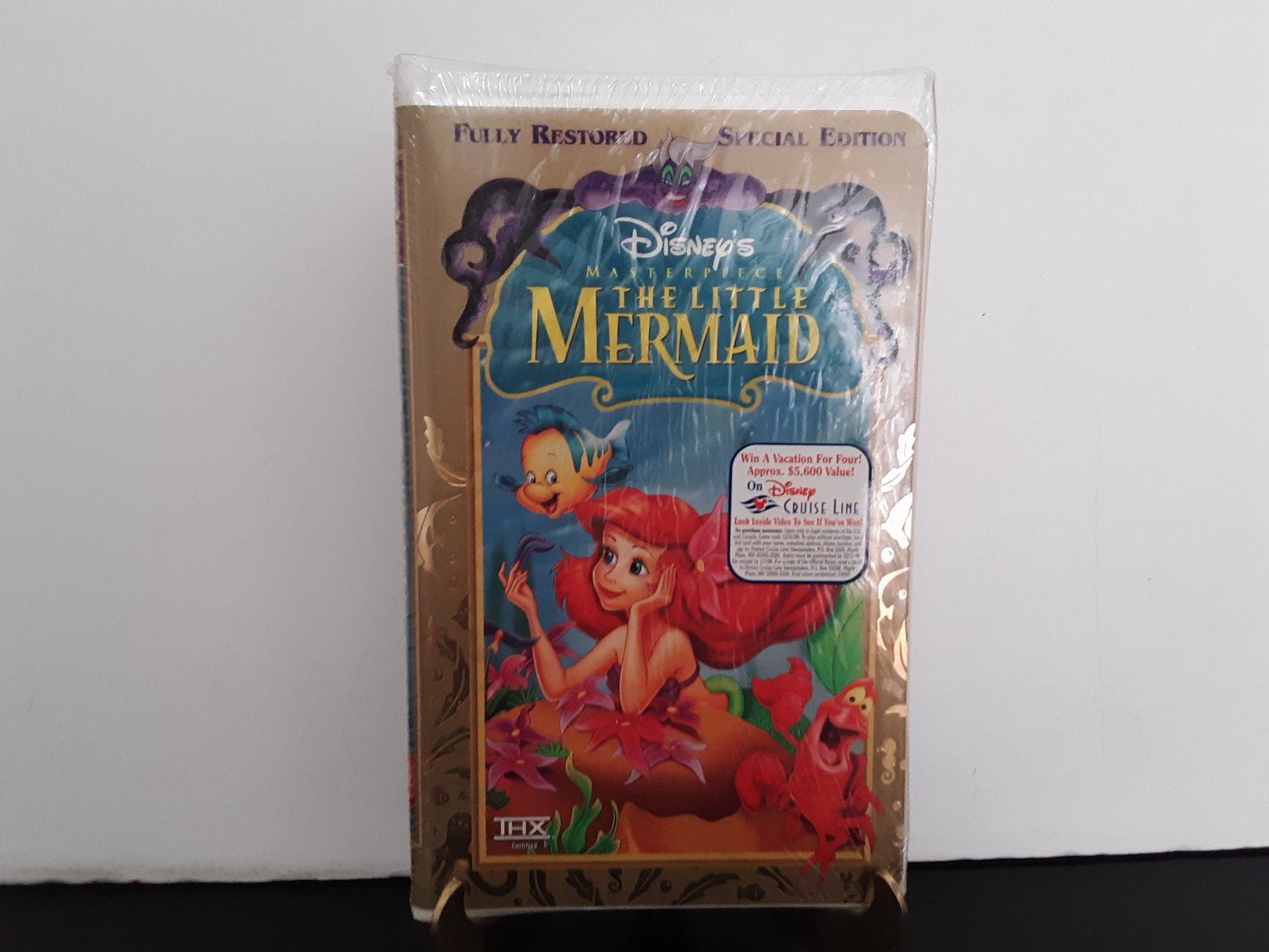 NEW Sealed! - Walt Disney Masterpiece - The Little Mermaid - VHS Tape