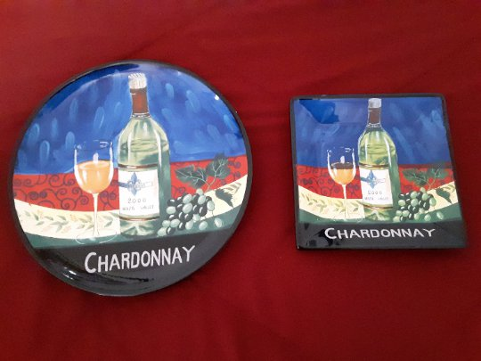 Chardonnay - Ambiance collection- 2 Wine Cheese Tray's      (1443)