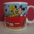 "Vintage 1987 - Mickey Mouse and Minnie Mouse ""I Love You"" Coffee Mug  (708)"
