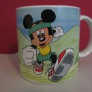 Vintage 1986 - Walt Disney Collectible Coffee Mug - Mickey Mouse Walking for fun!