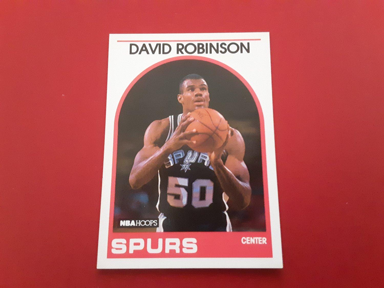 "Hall of Fame Basketball Player - ""David Robinson""  Rookie Card Plus   (1636)"