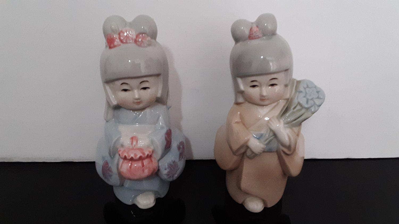 "Vintage 2 - Original Artmark ""Geisha Girls""  Made in Taiwan       (1621)"