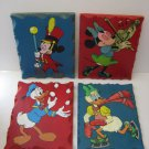 Walt Disney - Hand Painted  - Solid Wood - Mickey Mouse - Minnie Mouse   (156)