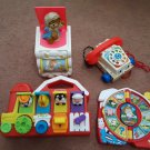 Vintage Fisher Price Toys - Lot of 4 Toys!   (1740)