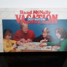 Vintage 1986 - Rand McNally Vacation Destination - Family Board Game!