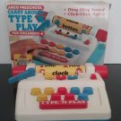 "Preschool - Vintage 1985 - ""Type N' Play""  Carry Around Toy in box!"