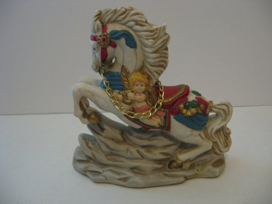 Carousel Horse Figurine - By Golden Suplex