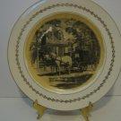 "Rare Fotoware Collectible Plate! - 1940's Steubenville Fotoware - ""Raleigh Tavern"""