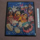Vintage Disney 18x22 Picture - Mickey Mouse, Minnie Mouse, Donald Duck