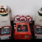 Vintage 6 - Christmas Ornaments - Coca -Cola - Superman  - Santa Claus