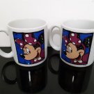 Vintage Walt Disney - 2 - Minnie Mouse Jumbo Coffee Mug