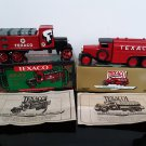New in Box!  2 - Texaco Truck Coin Banks