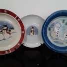 3 - Christmas Decorative Cake Plate's