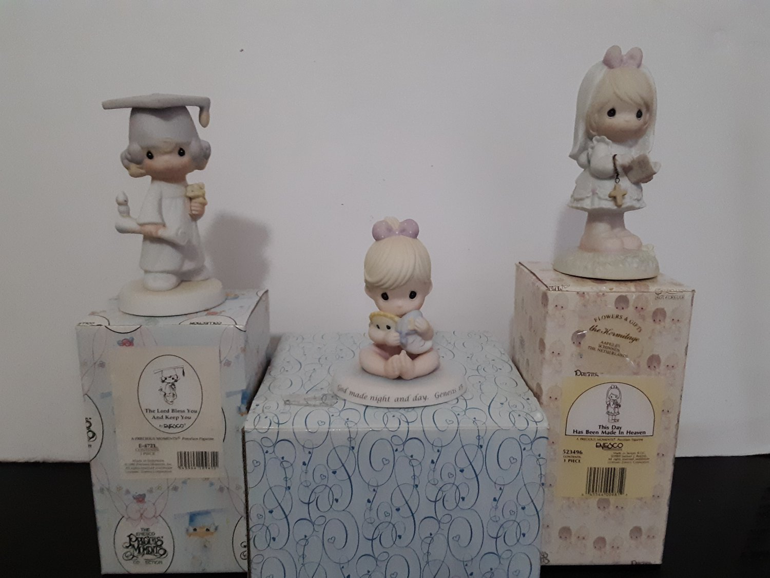 3 - Precious Moments Figurine in boxes!