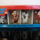 NEW! Family Guy - Christmas Glasses 4-Pack