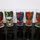 Bundle of 5 - The 12 Days of Christmas Glasses