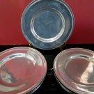 7 - 8.5' Wilton Columbia Pewter Plates