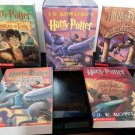 J.K. Rowling's Harry Potter - The First Four Thrilling Adventures at Hogwarts - 1999 Custom Box Set