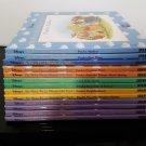 Walt Disney - Winnie The Pooh - 13 Hardcover books bundle! Circa 1997-2000